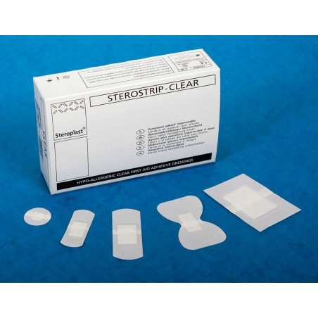 Sterostrip Clear Washproof Plasters