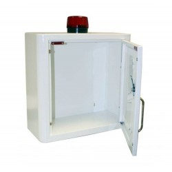Indoor Defibrillator Cabinet with Strobe Light and Alarm
