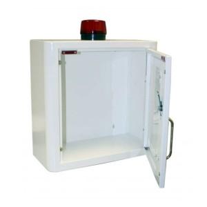 Indoor Defibrillator Cabinet with Strobe Light and Alarm