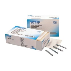 Vitrex Steel Sterile Blood Lancets - Pack of 200