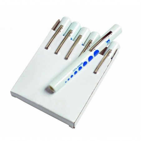 Pen Torch - Disposable With Pupil Gauge - Pack of 6