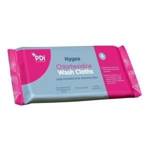 PDI Hygea Chlorhexidine Wash Cloths