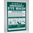 Eye Wash Guidance Sign