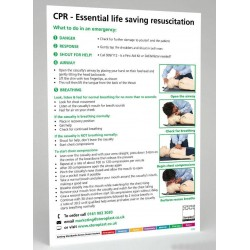 CPR - Essential Life-Saving Resuscitation Sign