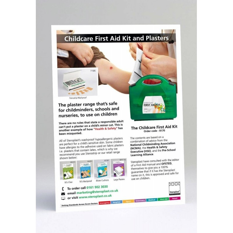 First Aid Leaflet - Childcare
