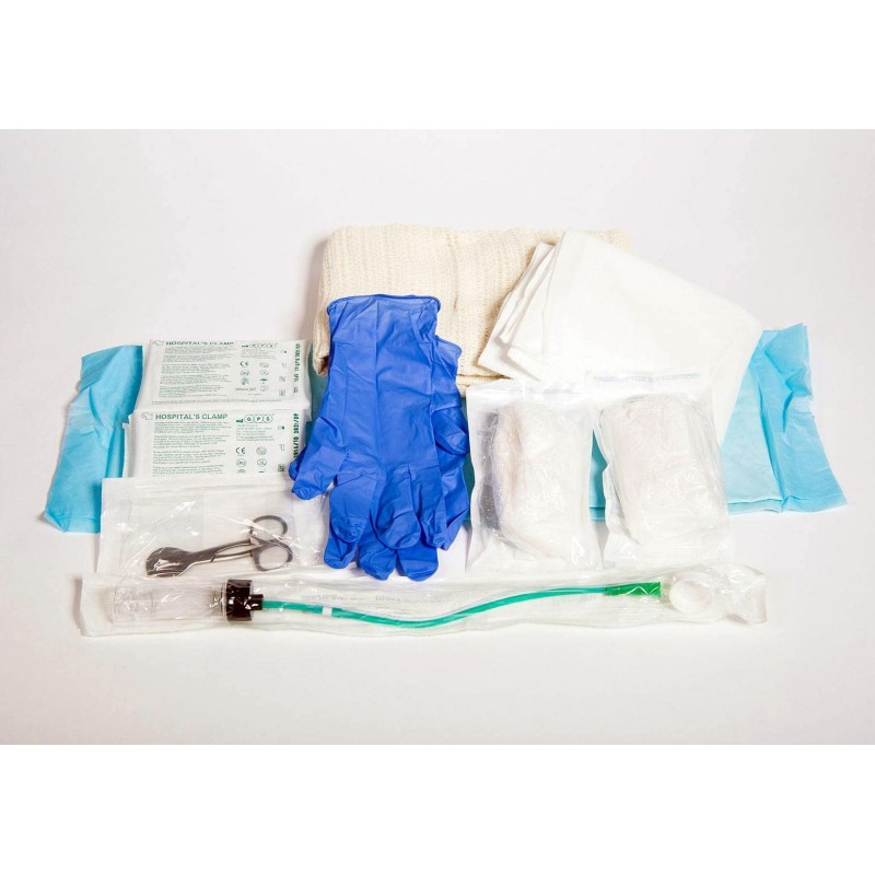 Disposable Emergency Maternity Kit (Sealed Polythene Bag)