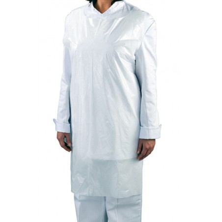 Disposable Aprons (Pack of 100 - White)