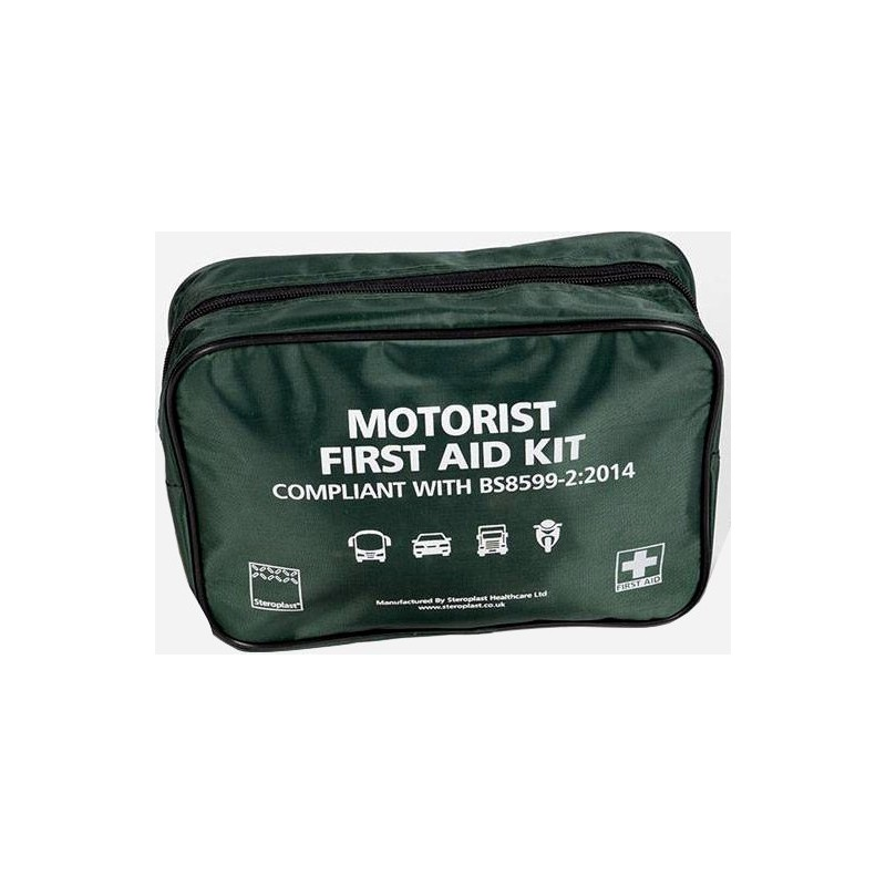 BS8599-2 Vehicle First Aid Kit (With Bag) - Medium