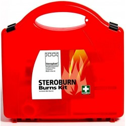 Steroburn Burn Care First Aid Kit (1-10 Person)