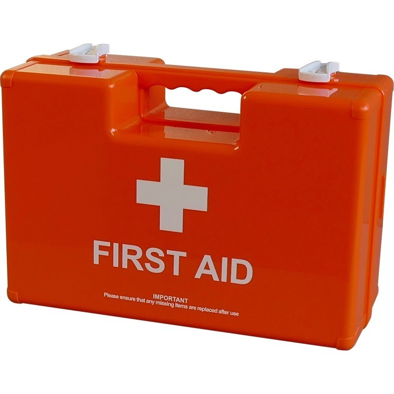 Industrial High-Risk First Aid Kit BS-8599 Orange - Small
