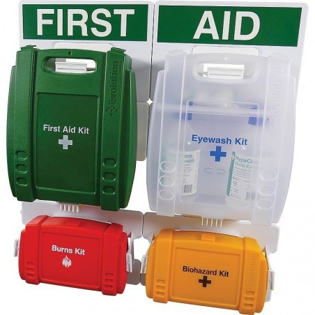 Workplace Complete First Aid Point BS-8599 Evolution (Medium)