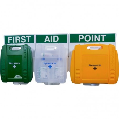 Workplace Comprehensive First Aid Point BS-8599 Evolution - Small